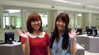 東海大学福岡短期大学 2013 オープンキャンパス 私たちがご案内します