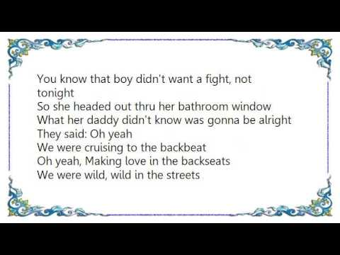 Bon Jovi - Wild in the Streets Lyrics