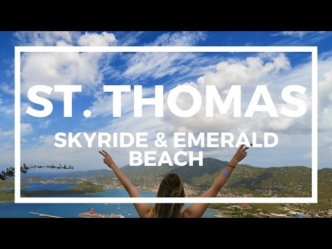 BEST CHEAP DAY IN ST. THOMAS   Travel Vlog