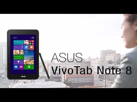 The ASUS VivoTab Note 8 with Children's Book Illustrator April Chu