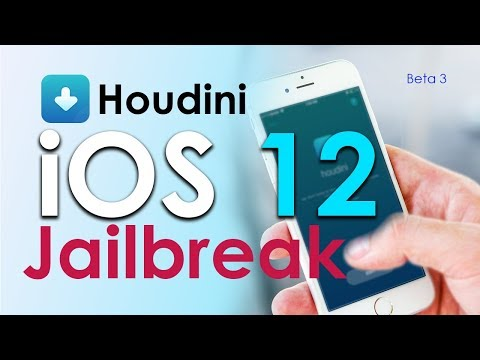 Houdini beta 3 semi-jailbreak for your iOS 12
