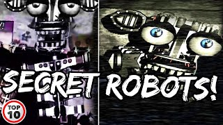 Top 10 FNAF Chąracters Who Could Be Animatronics