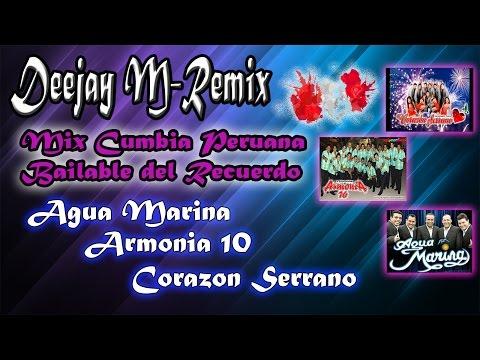 VIDEO: Mix Cumbia Peruana Bailable del Recuerdo  - Deejay M-Remix