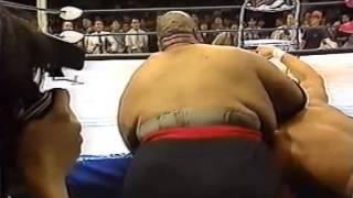 Gambar cover Tokyo Pro Wrestling Abdullah The Butcher vs Sabu 6/26/96