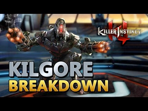 Kilgore - Gameplay Breakdown - Killer Instinct