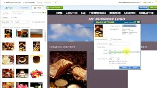 Adding Content to your Website Pages