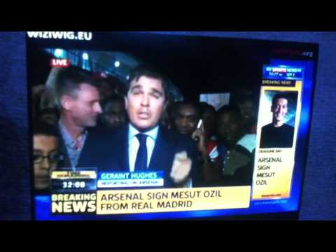 ARSENAL SIGNS MESUT OZIL . BREAKING NEWS