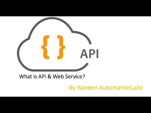 What is an API? - Application Programming Interface - WebServices Automation - Part-1