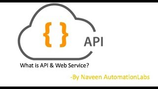 What is API? - Application Programming Interface - WebServices Automation - Part-1