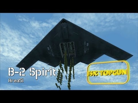 FSX B-2 Spirit (Northrop Grumman) - USAF Stealth Strategic Bomber