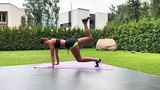 Похудеть просто Упражнения для сжигания жира Суперэффективное упражнение для похудения