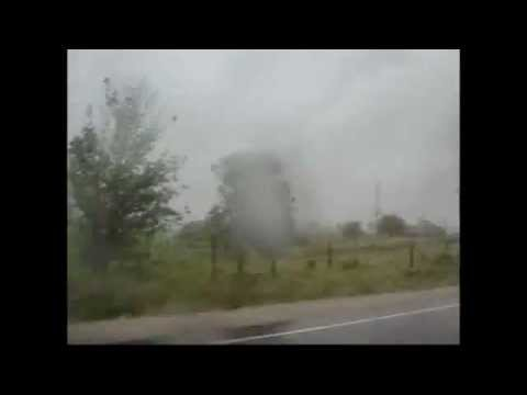 Goderich F3 Tornado Actual Storm Chaser Footage From CBC News Aug 21, 2011