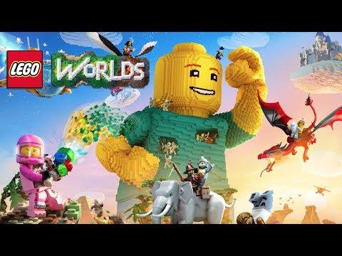 LEGO Worlds на Nintendo Switch (стрим)