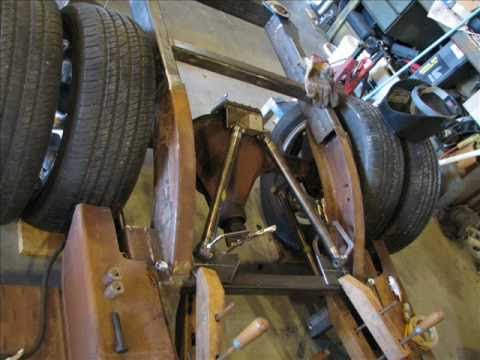 Air Bag Suspension Kits For Chevy Trucks >> 29 Chevy Project Part 4 making the rear frame - YouTube