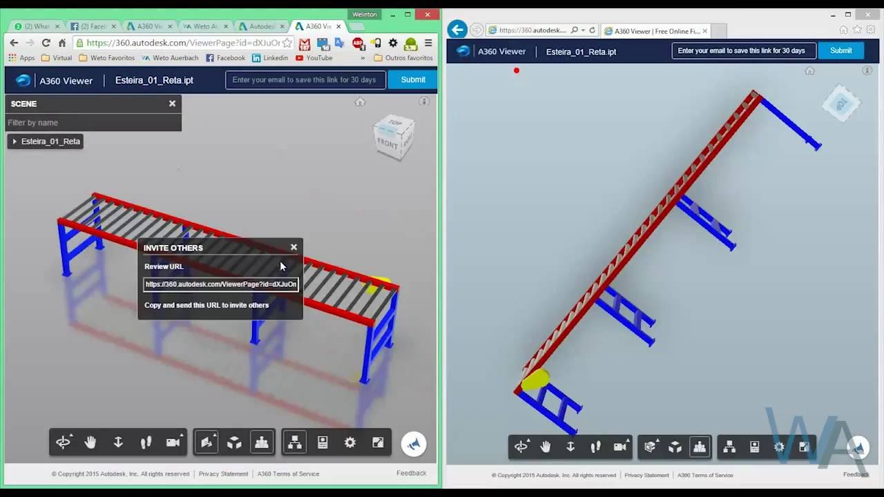 Autodesk A360 Viewer - Visualize arquivos CAD no seu Browser Web