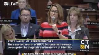 House GOP Leader Klarides shares Melissa Thompson's story...