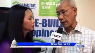 6/1/14 - PHÓNG SỰ ĐẶC BIỆT TỪ PHI LUẬT TÂN: SBTN trao tiền cứu trợ cho Hội Habitat for Humanity