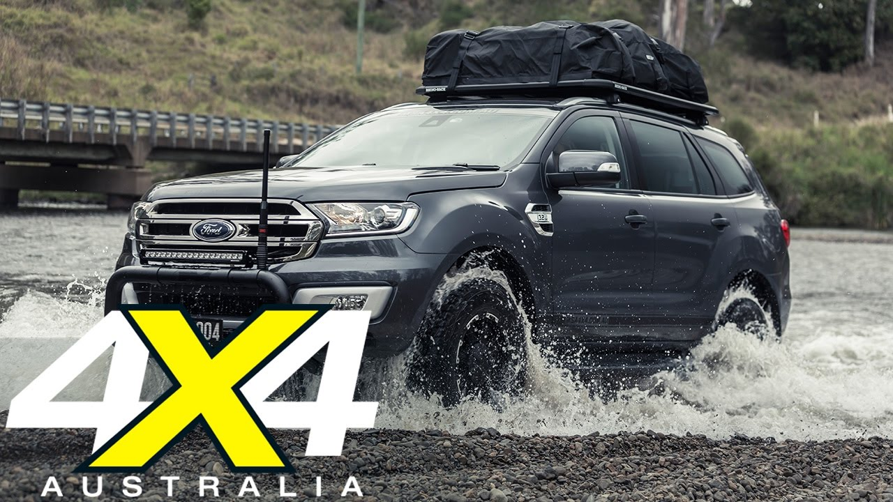 Ford Transit Offroad >> Custom MSA 4X4 Ford Everest | Custom 4x4 | 4X4 Australia - YouTube