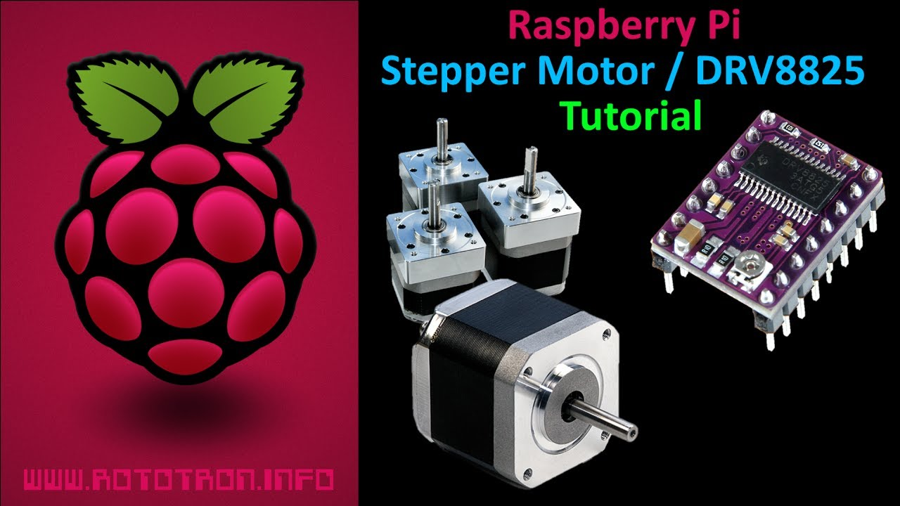 raspberry pi stepper motor tutorial youtube
