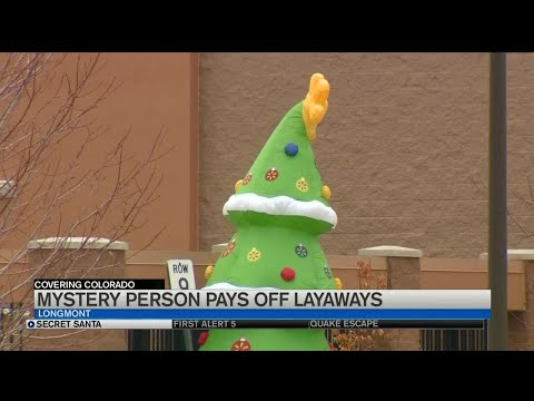 The Mo & Sally Show - Secret Santa Pays Off $45,000 Worth of Layaway Items