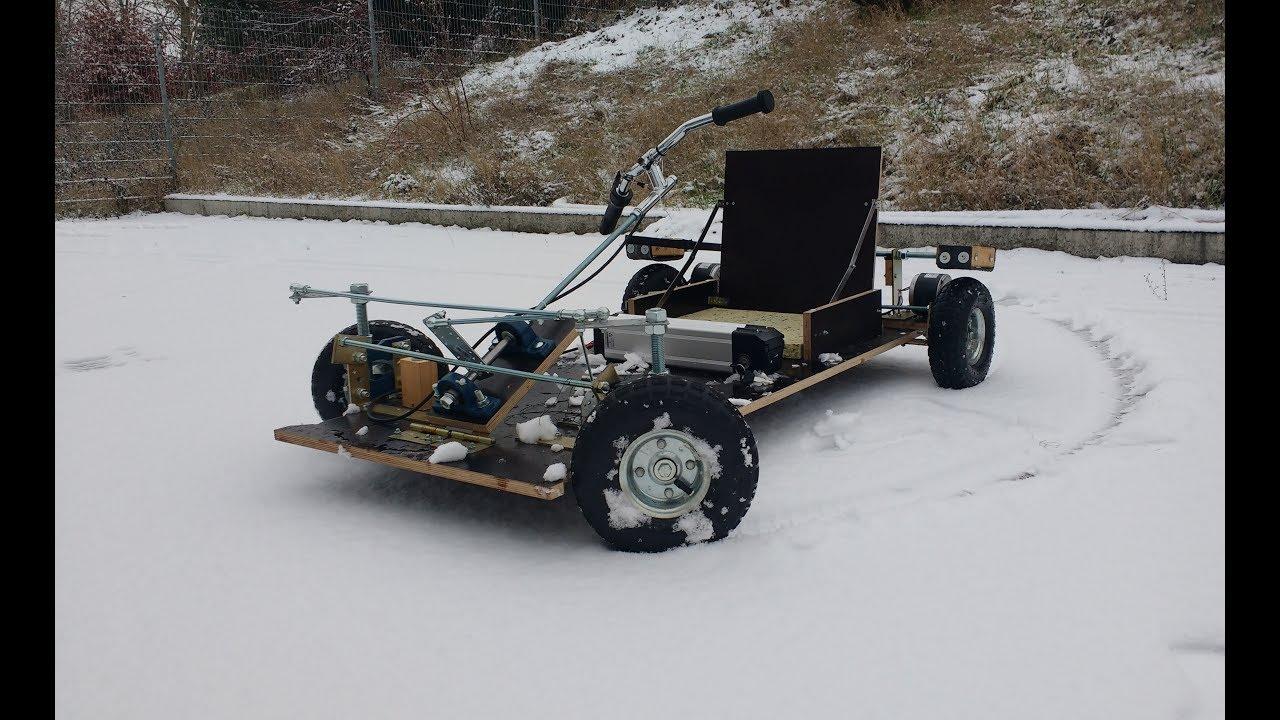 Seifenkiste Mit E Motor Bauen Seifenkiste Bauen