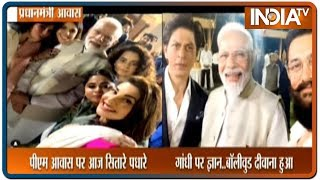Bollywood celebrities interact with PM Modi at 150 Years of Mahatma Gandhi celebrations