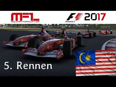F1 2017 - Mulchian-Liga - Classic Cars - 5. Rennen - Malaysia