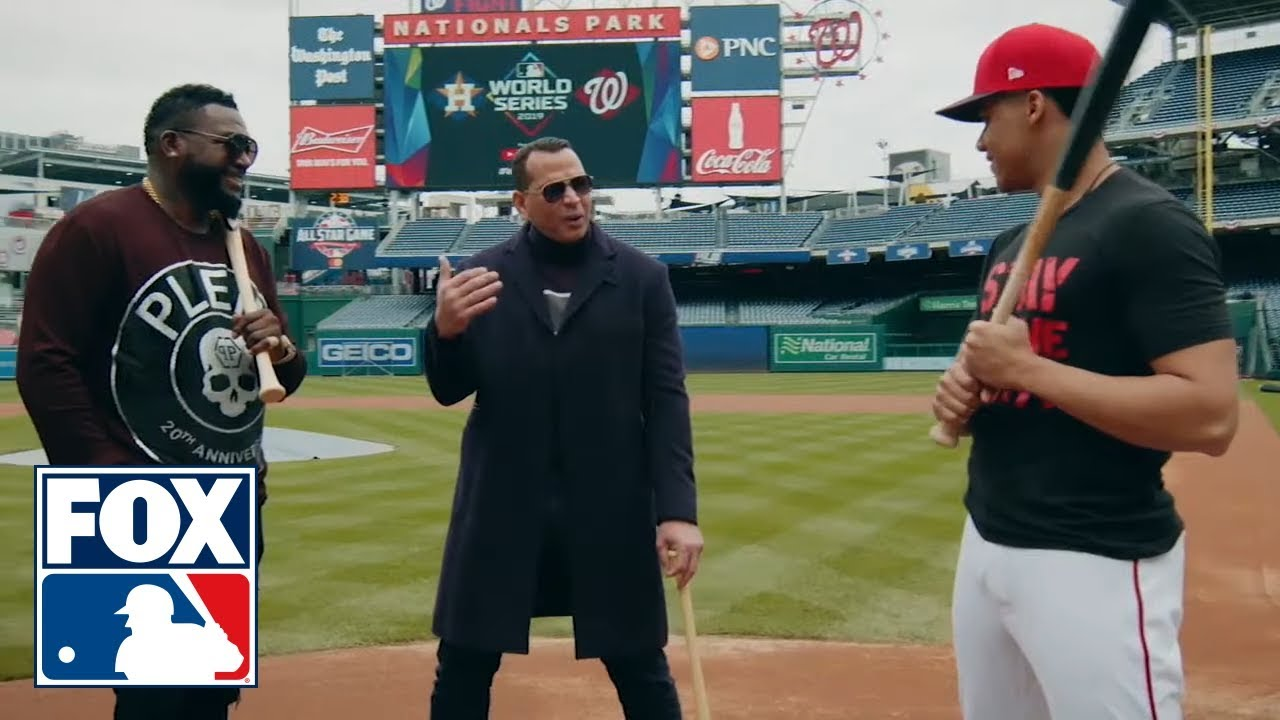 Download Alex Rodriguez, David Ortiz talk to Juan Soto about hitting and being such a young star | FOX MLB
