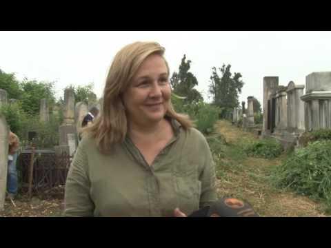 Телеканал ЧЕРНІВЦІ: Наводити лад на славнозвісному Єврейському кладовищі Чернівців взялися іноземці