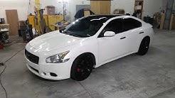 White maxima custom