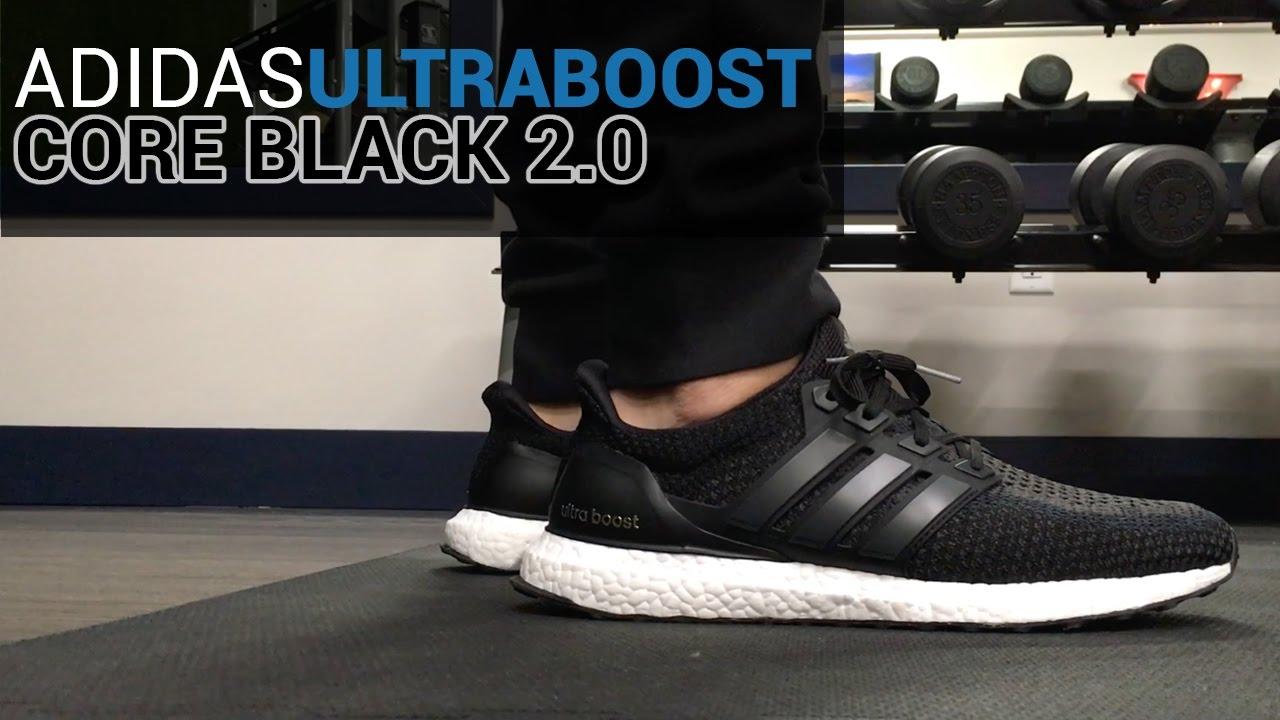 c83729d33463b Adidas Ultra Boost Core Black 2.0 - Unboxing