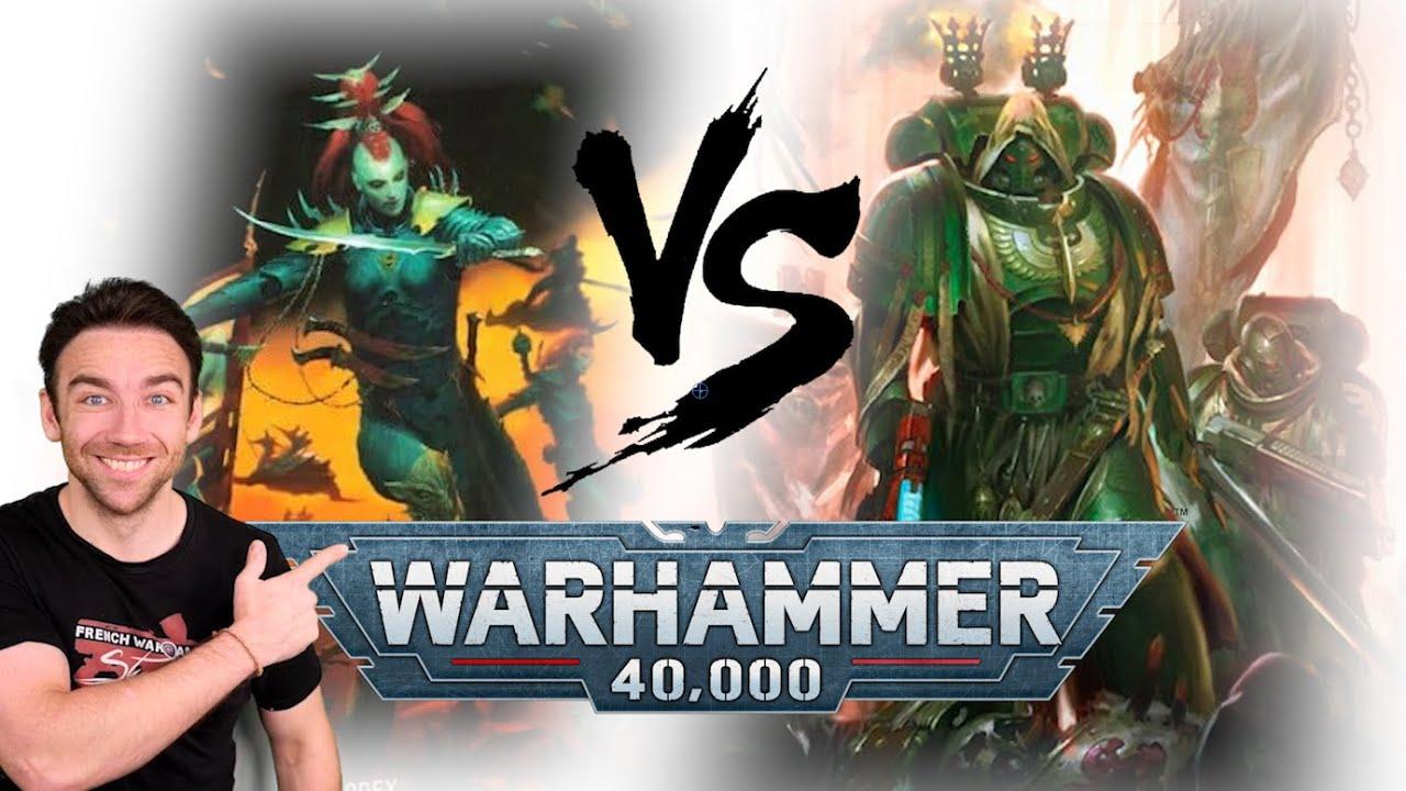 Download Warhammer 40.000 - Drukhari VS Dark Angels