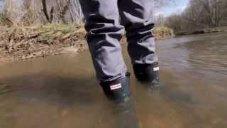 Hunter Original Short Rain Boots for Men - Review and Waterproof Test