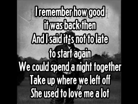 JOHNNY CASH - She Used To Love Me A Lot (Lyric Video)