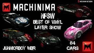 Repeat youtube video Need for Speed World Vinyl - Best of Vinyl Layer Show (2013) 84 MODELS - JUNNIORBOY™ ツ ☞ Machinima