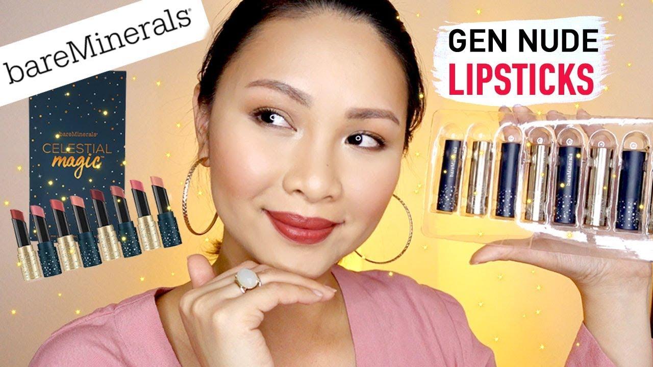 bareMinerals Celestial Magic Lipsticks | Magic lipstick