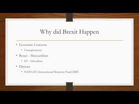 United Kingdom Exiting the European Union