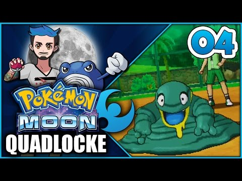 Pokémon Moon Quadlocke Part 4 | THIS SCHOOL IS SO GRIMEY