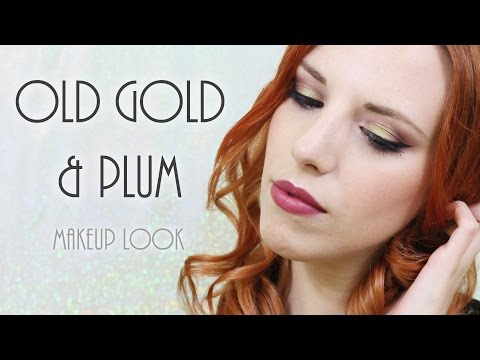Old Gold & Plum | MAKEUP LOOK
