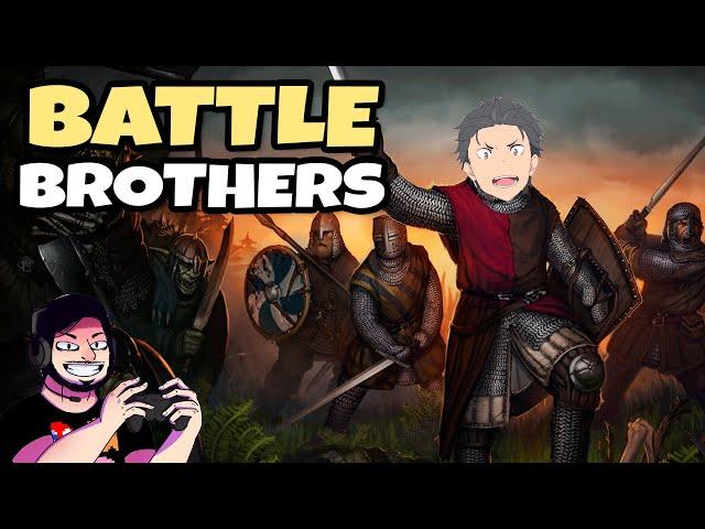 O Chefão dos Orcs! #09 - Battle Brothers | Gameplay Português PT-BR