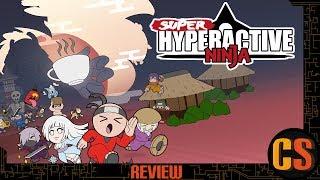 SUPER HYPERACTIVE NINJA - PS4 REVIEW