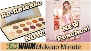Makeup Minute | Coloured Raine Queen of Hearts Available NOW! + Too Faced Peaches & Cream!