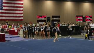 Annie Beard - Floor Exercise - 2016 Women's Junior Olympic Championships