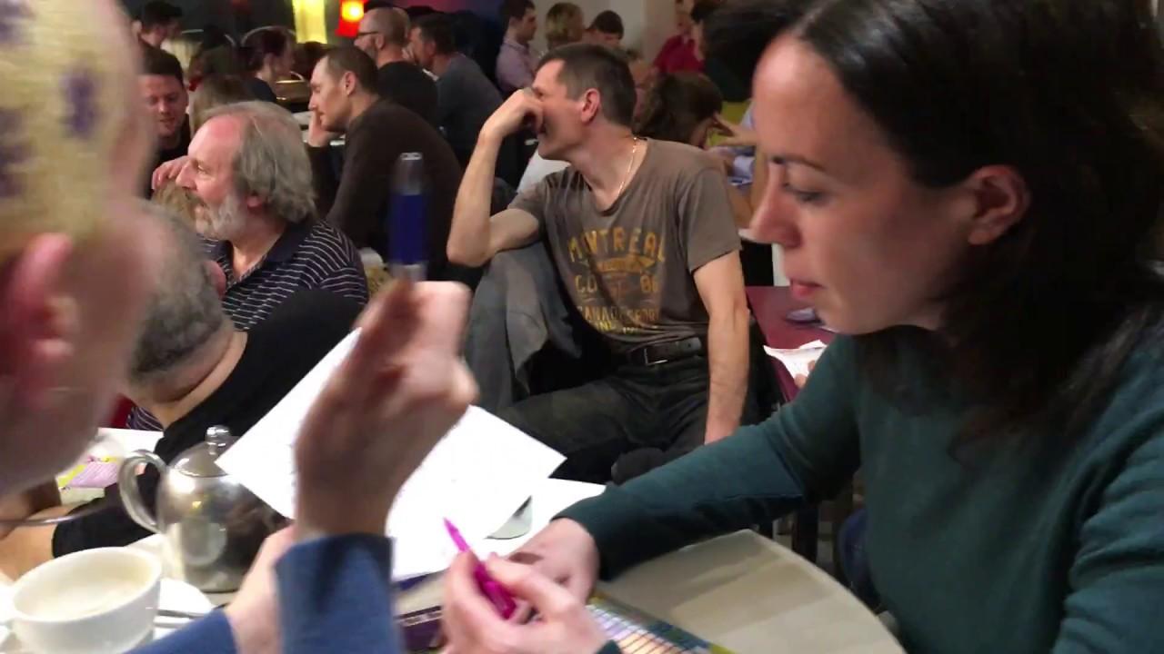 The Flirt Quiz Night Mannequin Challenge - YouTube
