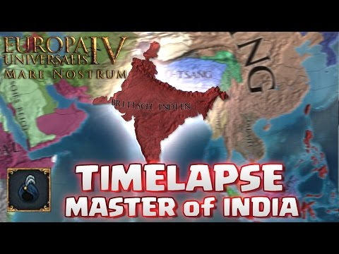 EU 4 TIMELAPSE ★ Mare Nostrum - MASTER of INDIA | Kommentar zum Lets Play