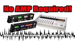 NO AMP REQUIRED! (Sonicake Black Hammer & Rockstage)