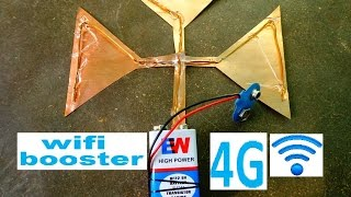 how to make mobile signal booster || wifi booster || cell phone network booster || jio net increase