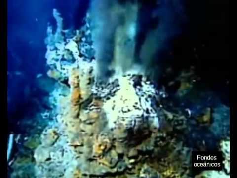HIDROLOGIA OCEÁNICA. FONDOS OCEÁNICOS.  (dorsales Y Fosas)