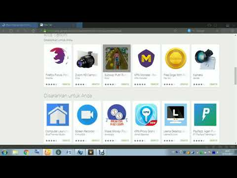 Cara Download Aplikasi Playstore Di PC/Laptop