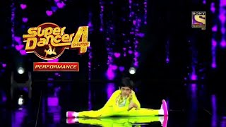 #superdancer4 Sanchit solo performance in song Bezubaan Phir Se that impressed Remo Sir Farah Ma'am